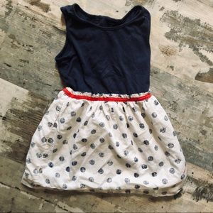 Baby gap 3T simple and timeless polka dot dress